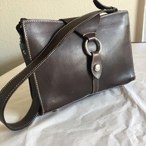 Dooney and Bourke Mini Leather Shoulder Bag